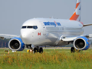 C-FTDW - Travel Service Boeing 737-800
