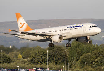 TC-FHC - FreeBird Airlines Airbus A320
