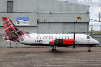 G-LGNF - FlyBe - Loganair SAAB 340