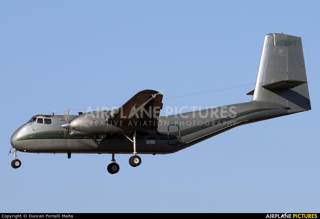 Private N238PT aircraft at Malta Intl