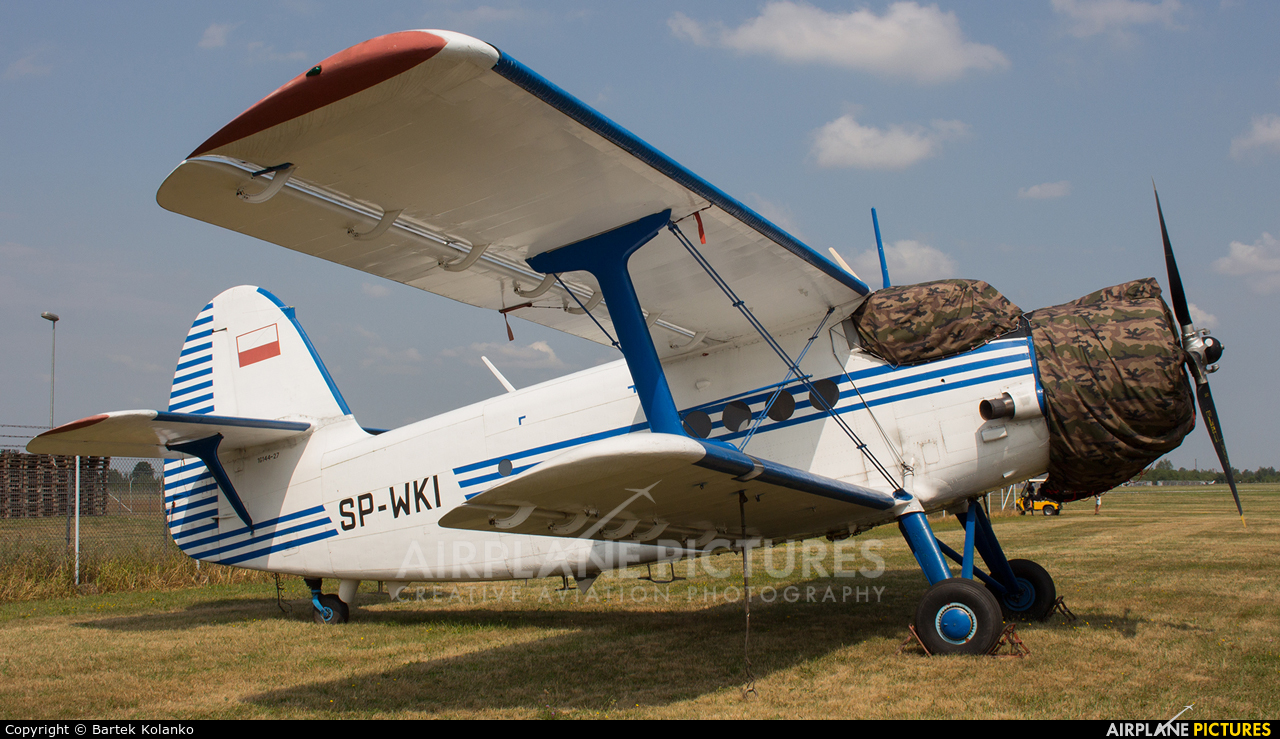 ZUA Mielec SP-WKI aircraft at Mielec