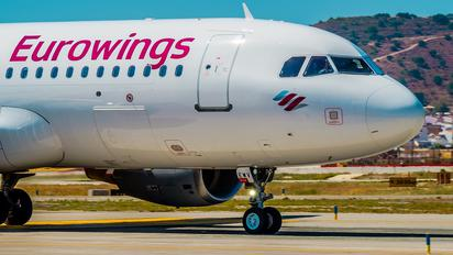 D-AEWV - Eurowings Airbus A320