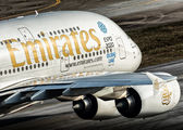 A6-EOF - Emirates Airlines Airbus A380 aircraft