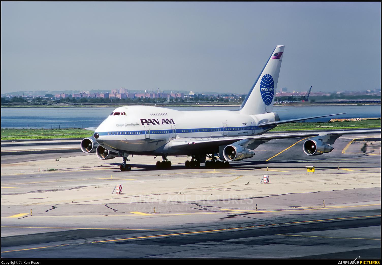 Pan Am N534PA aircraft at New York - John F. Kennedy Intl