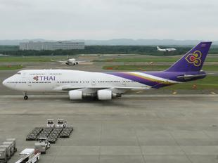 HS-TGP - Thai Airways Boeing 747-400