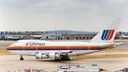 N140UA - United Airlines Boeing 747SP