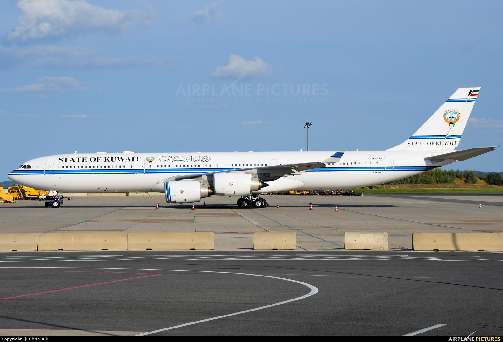 Kuwait - Government 9K-GBA aircraft at Vienna - Schwechat