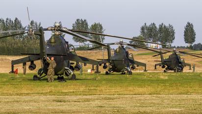 - - Poland - Army Mil Mi-24V