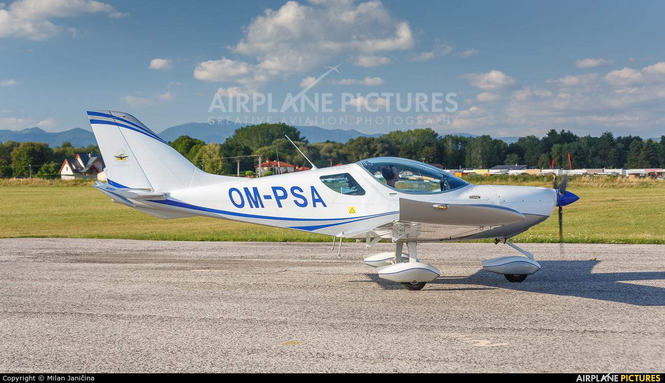 Private OM-PSA aircraft at Prievidza