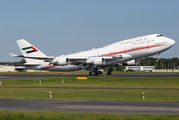 A6-MMM - United Arab Emirates - Government Boeing 747-400 aircraft