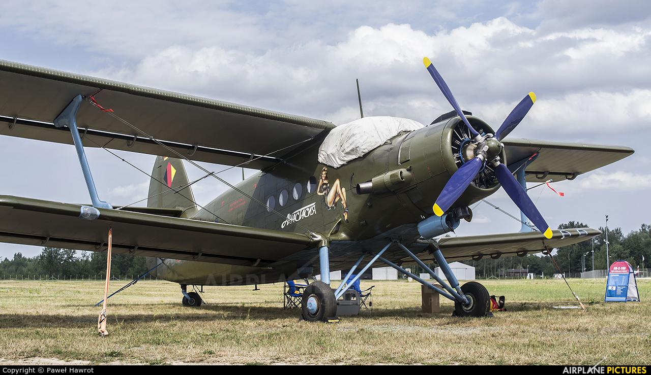 Private D-FUKM aircraft at Mielec