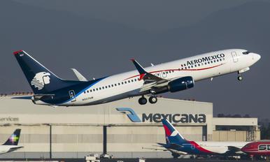N957AM - Aeromexico Boeing 737-800