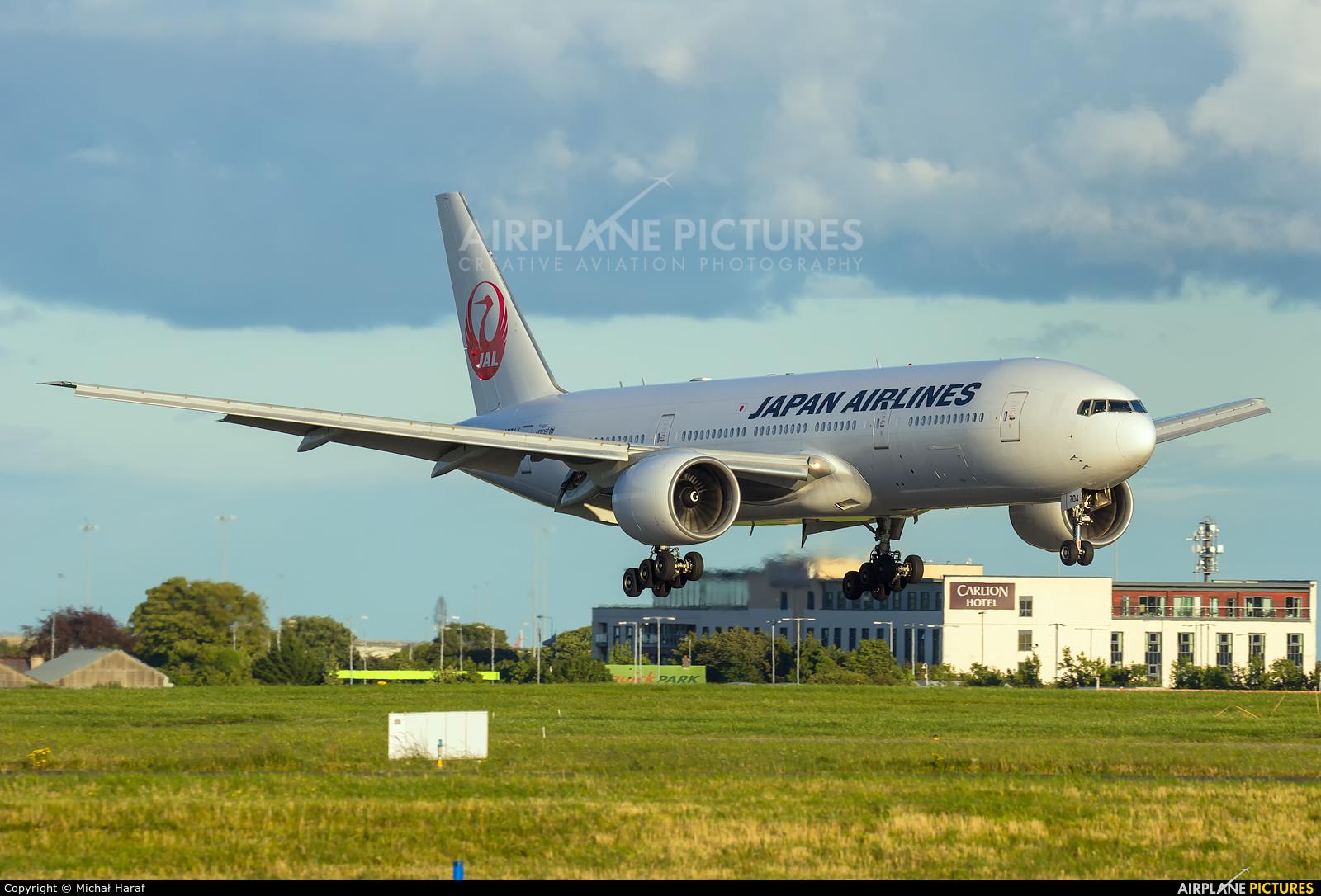 JAL - Japan Airlines JA704J aircraft at Dublin