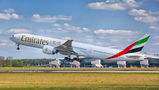 Emirates Airlines Boeing 777-300ER A6-EPO at Zagreb airport