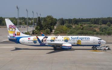 TC-SOH - SunExpress Boeing 737-800