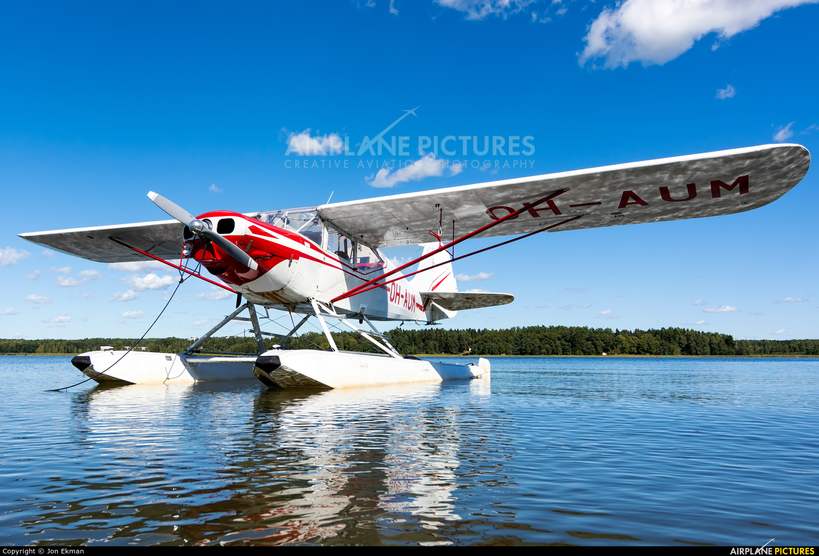 Private OH-AUM aircraft at Off Airport - Finland
