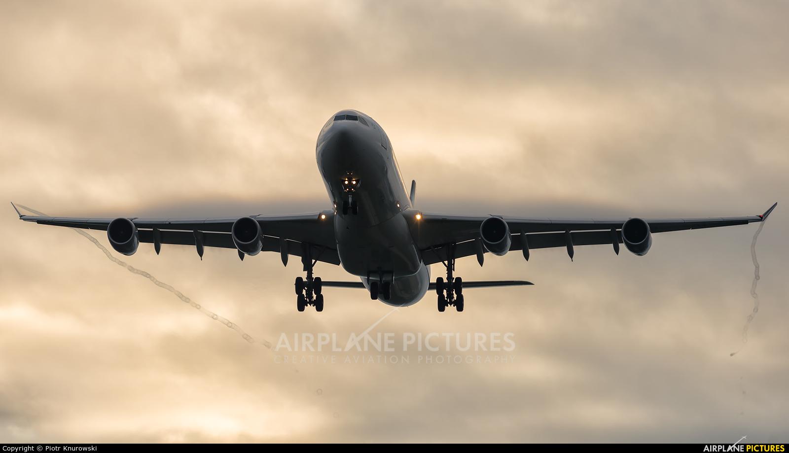 Lufthansa D-AIGP aircraft at Frankfurt