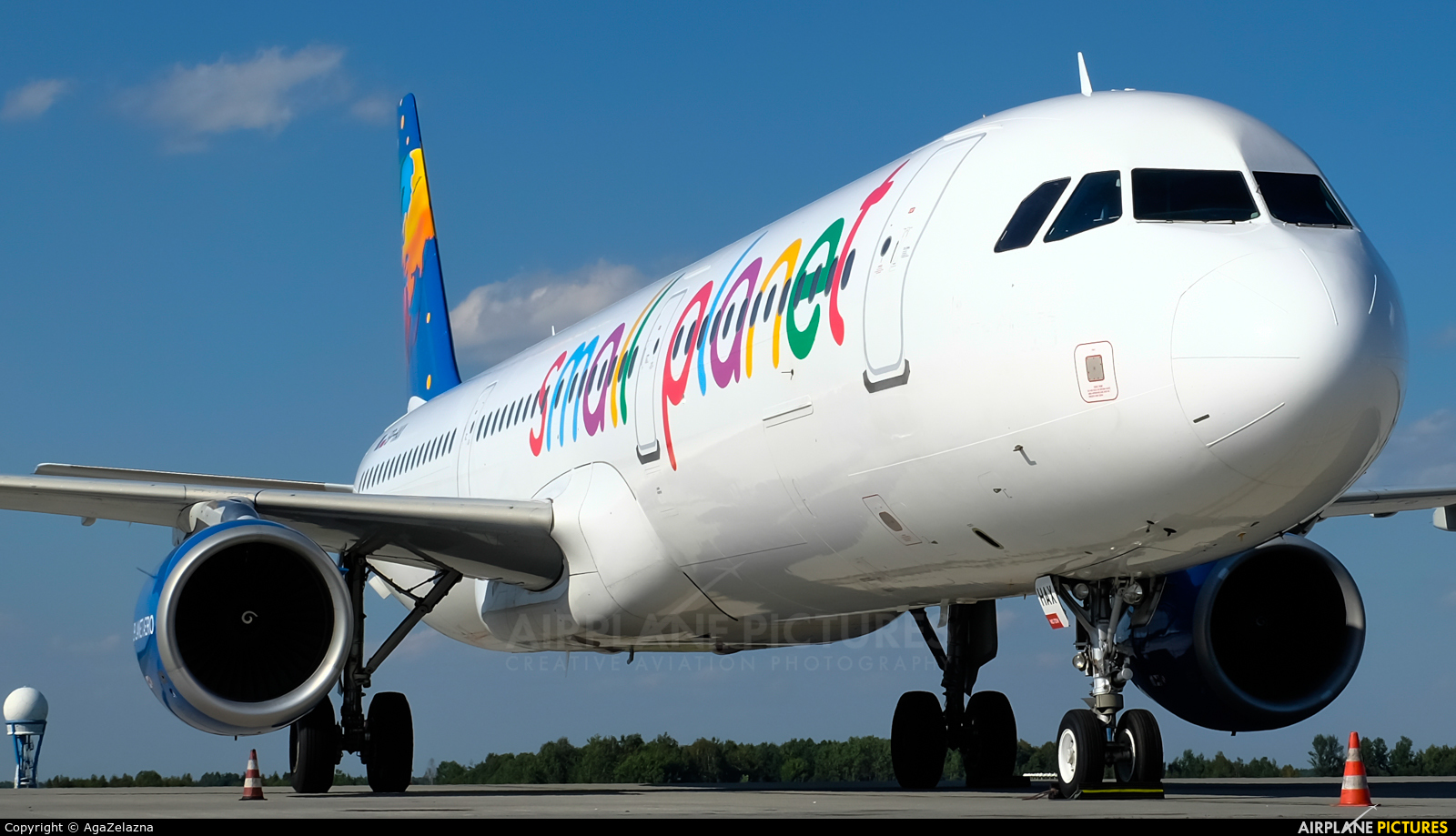 Small Planet Airlines SP-HAX aircraft at Katowice - Pyrzowice