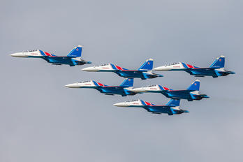 "RF-81702 - Russia - Air Force ""Russian Knights"" Sukhoi Su-35S"