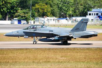M45-01 - Malaysia - Air Force McDonnell Douglas F-18D Hornet