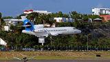 Virgin Galactic Dassault Falcon 900 series M-VGAL at Sint Maarten - Princess Juliana Intl airport