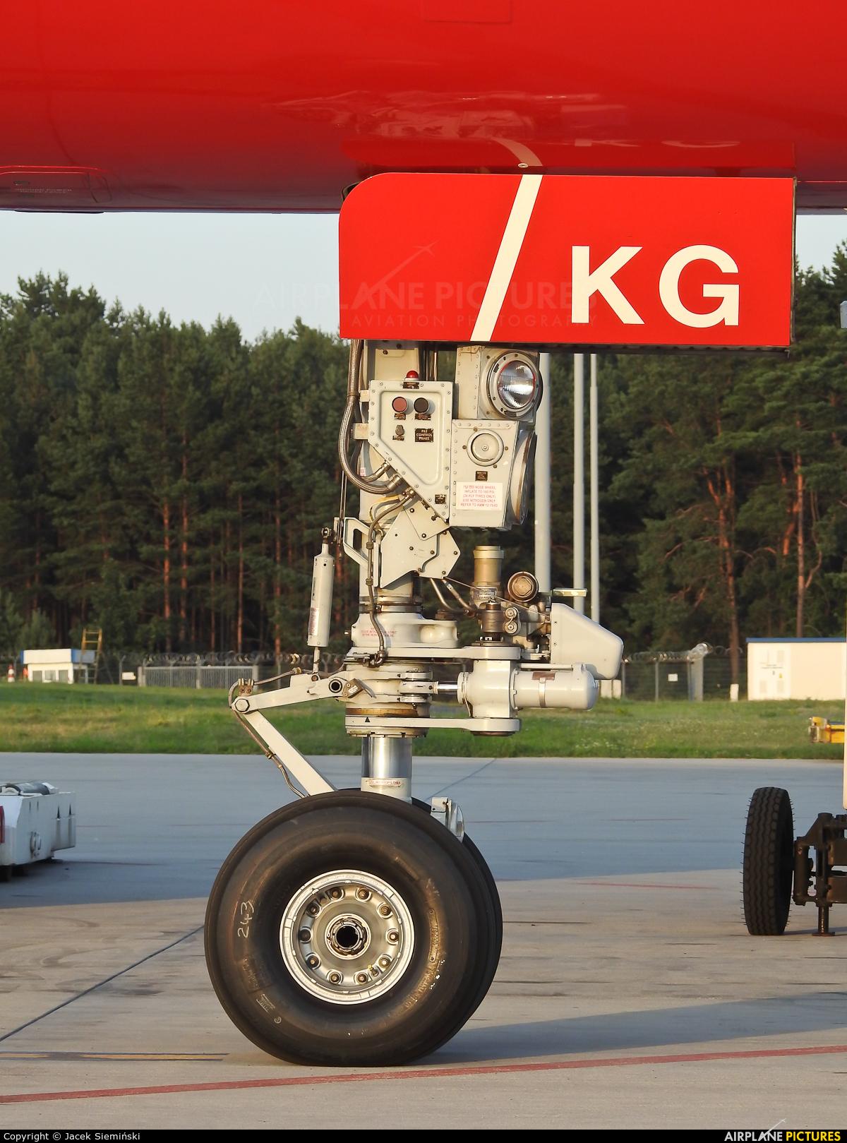 DHL Cargo G-DHKG aircraft at Katowice - Pyrzowice