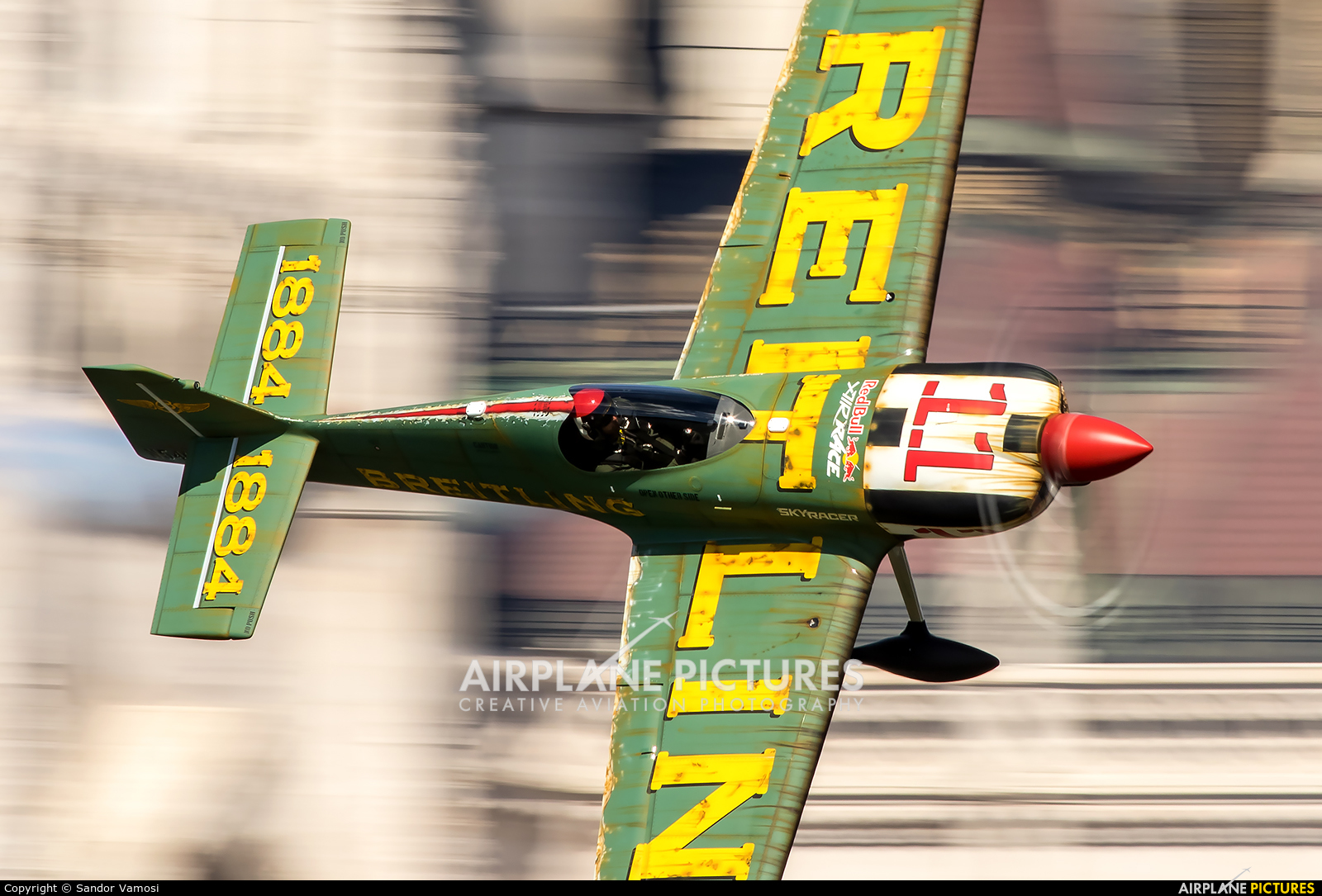 Breitling Devils N540XS aircraft at Off Airport - Hungary
