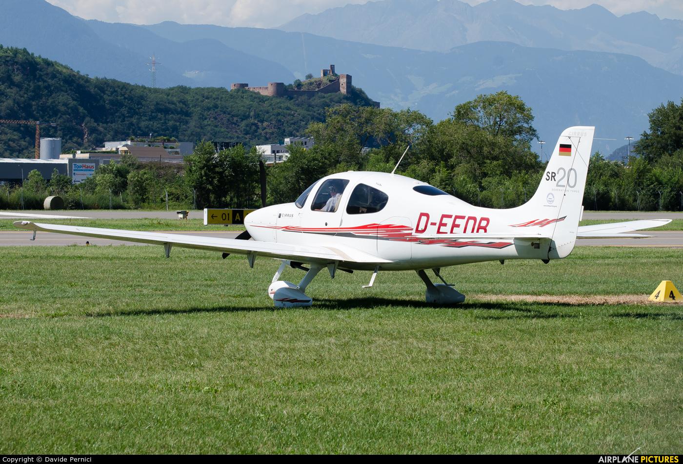 Private D-EEDB aircraft at Bolzano