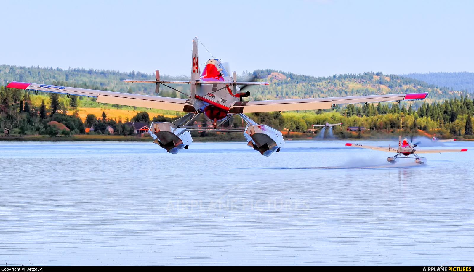 Conair C-FDHN aircraft at 100 Mile House - Watson Lake, BC