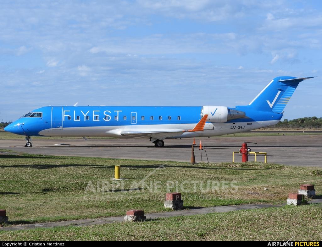 Flyest LV-GIJ aircraft at Formosa Intl