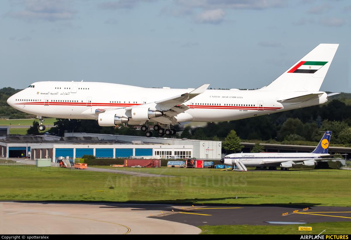 United Arab Emirates - Government A6-MMM aircraft at Hamburg - Fuhlsbüttel