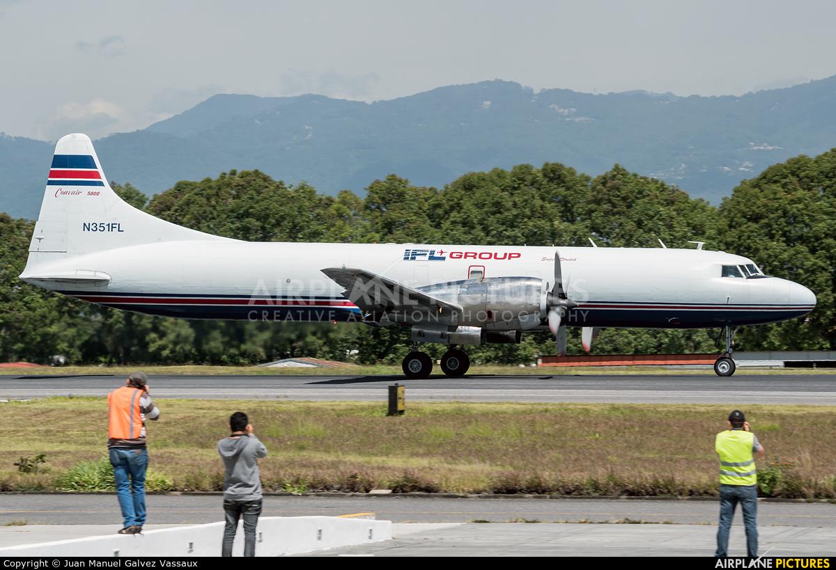 IFL Group N351FL aircraft at Guatemala - La Aurora