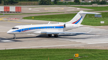 LX-NAD - Luxaviation Bombardier BD-700 Global Express XRS