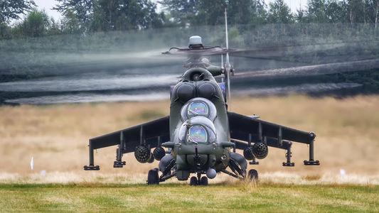 #1 Poland - Army Mil Mi-24V 739 taken by Marcin Majcher