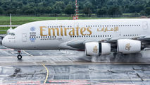 A6-EOV - Emirates Airlines Airbus A380 aircraft