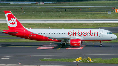 D-ABDZ - Air Berlin Airbus A320