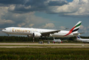 A6-EBE - Emirates Airlines Boeing 777-300ER aircraft