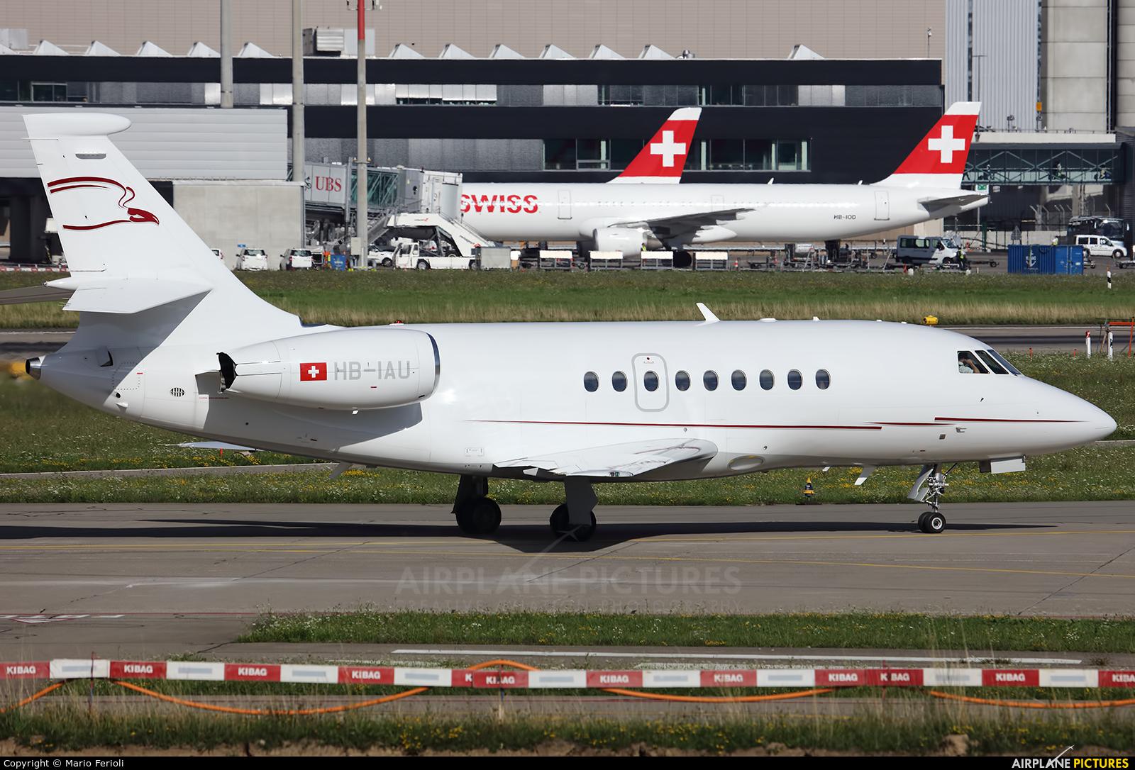 Cat Aviation HB-IAU aircraft at Zurich