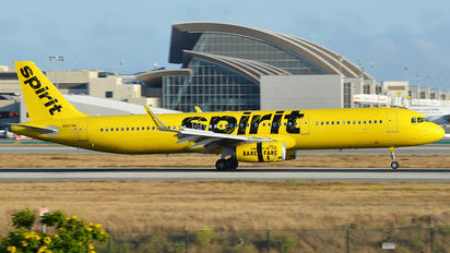 N667NK - Spirit Airlines Airbus A321