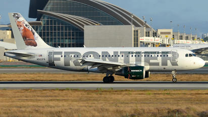 N922FR - Frontier Airlines Airbus A319