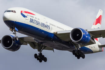 G-VIIM - British Airways Boeing 777-200