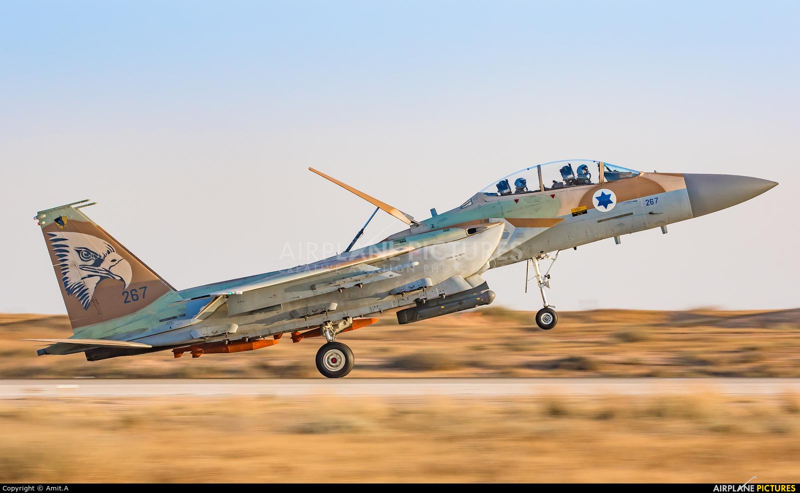 Israel - Defence Force 267 aircraft at Beersheba - Hatzerim