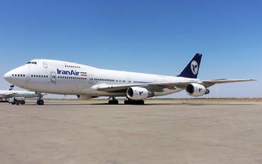EP-ICD - Iran Air Cargo Boeing 747-200F
