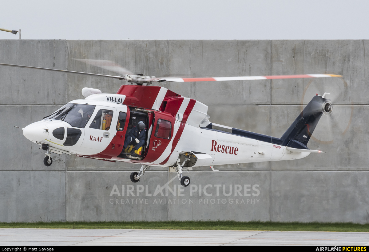 LLOYD HELICOPTERS PTY. LTD VH-LAI aircraft at Newcastle - Williamtow, NSW