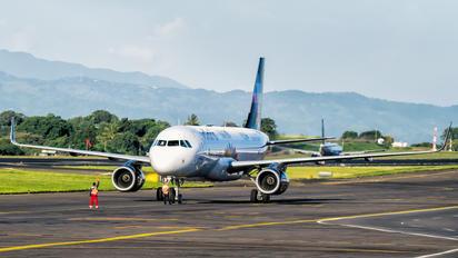 N527VL - Volaris Costa Rica Airbus A320