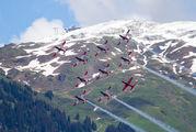 - - Switzerland - Air Force: PC-7 Team Pilatus PC-7 I & II aircraft