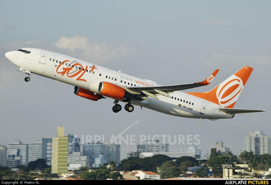 GOL Transportes Aéreos  PR-GXB aircraft at São Paulo - Congonhas