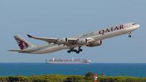A7-AGB - Qatar Airways Airbus A340-600 aircraft
