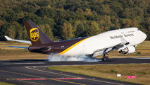 N579UP - UPS - United Parcel Service Boeing 747-400BCF, SF, BDSF aircraft