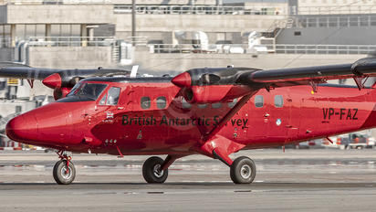 VP-FAZ - British Antarctic Survey de Havilland Canada DHC-6 Twin Otter